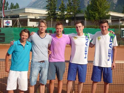 Mathias Florian, Thomas Ramsbacher, Tobias Florian, Bernhard Kraler, Kilian Hofmann