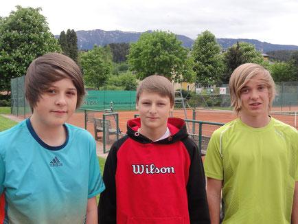 Marcel Pschernig, Matteo Zauchner, Leon Fian