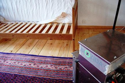 Wärmebehandlung gegen Bettwanzen