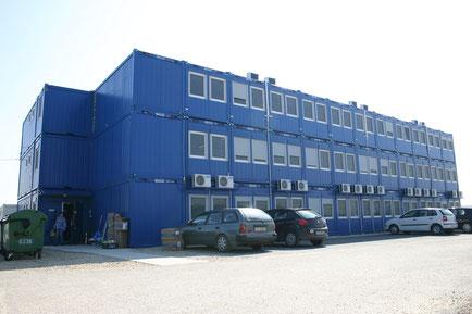 3-х этажное модульное здание Containex