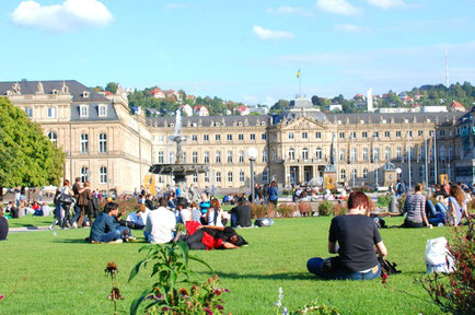 Stuttgart top things to do - Palace Square - Copyright  Stephen Bugno