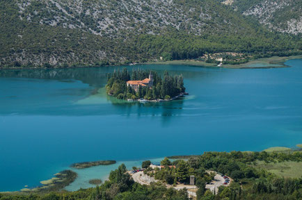 Sibenik top things to do - Visovac Monastery - Marz88