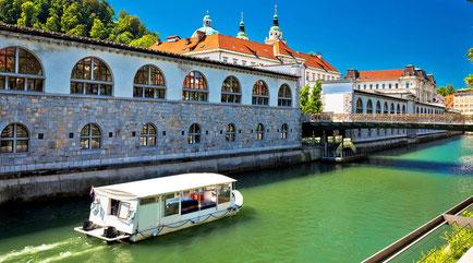 Ljubljana top things to do - Ljubljana River and its Bridges