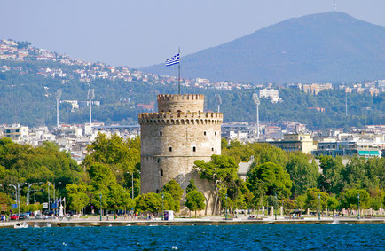 White Tower in Thessaloniki, Greece Copyright Alexander Mazurkevich
