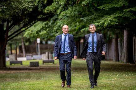 Marcus Stopper und Markus Reindl von marCKus baV Consulting. Foto by: www.photo-chameleon.com