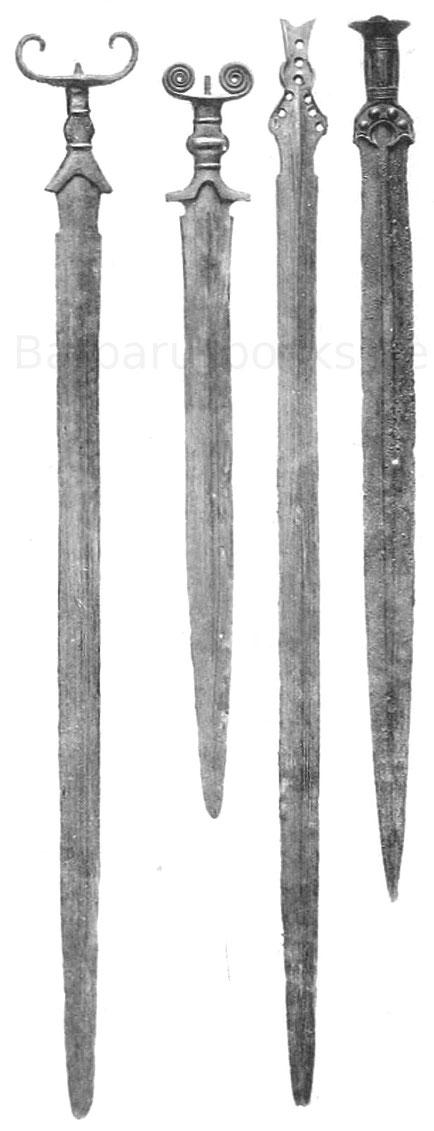 Keltische Langschwerter aus Deutschland Ausgrabung
