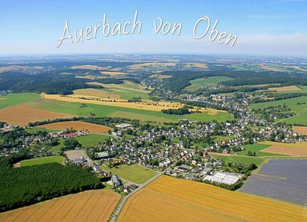 Luftaufnahmen Fotografie Auerbach von Oben
