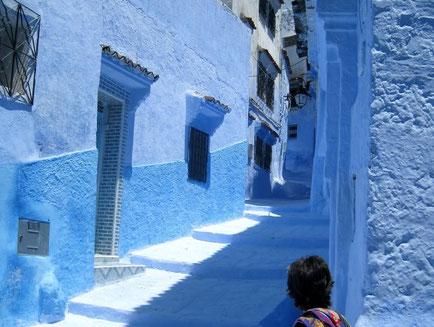 Rincon en Chefchaouen, Marruecos. Viajes SoloMarruecos