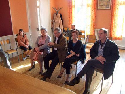 Trés faible participation des habitants de Béthancourt-en-vaux pour cette Assemblée Générale.