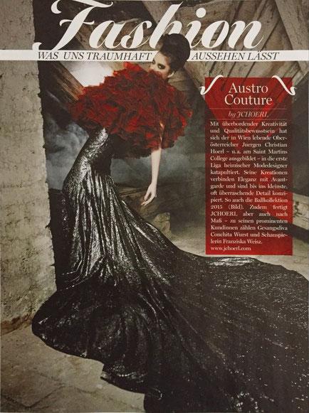 Designer Abenkleid, Cocktailkleid aus Wien
