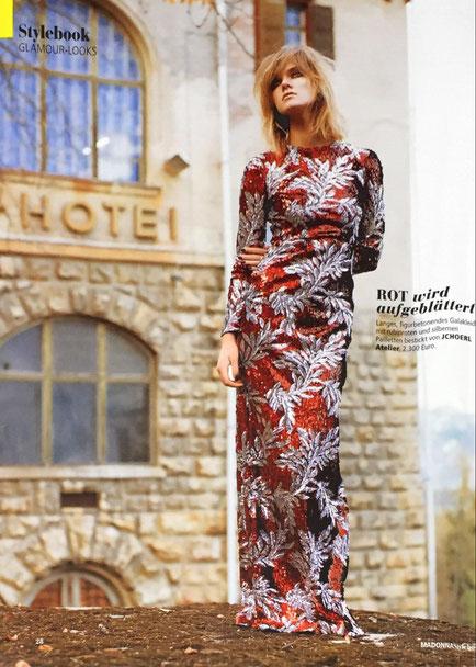 Designer Abenkleid Cocktailkleid aus Wien Mode Fashion Designer
