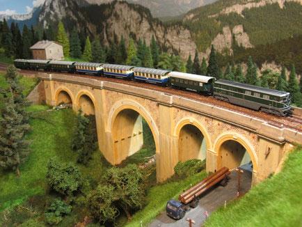 Höllgraben - Semmeringbahn - bei Interesse auf das Bild klicken
