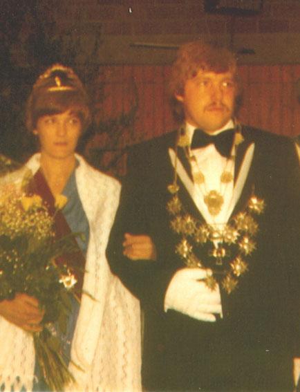 40 jähriges Jubelkönigspaar Franz-Josef und Annegret Schüttler