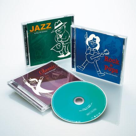 1000円でCDとMQA-CDの聞き比べができる、ユニバーサルミュージックの2枚組サンプラー。邦楽バージョンも9月に追加発売されて全4タイトルとなった。
