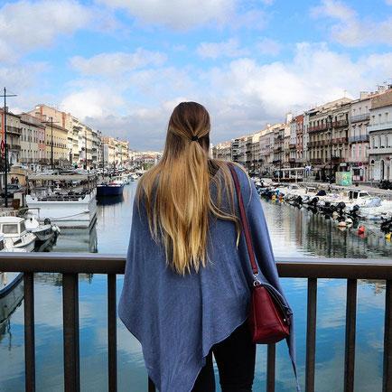 Sète Frankreich am Mittelmeer wie Venedig