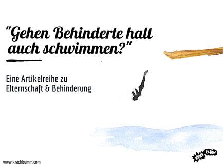 © Katja Grach - Gehen Behinderte auch schwimmen?