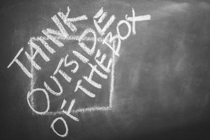 Ein Coach unterstützt Sie dabei, außerhalb Ihrer Gewohnheiten zu denken.