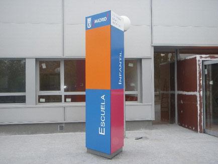 Señaletica Modular - Fabricante Señaletica Modular - Diseño Oficinas - Letreros Oficinas - Interiorismo oficinas