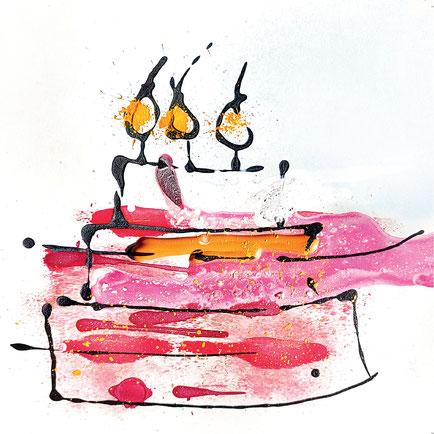 Geburtstagskarte für Mitarbeiter, Kunden und Lieblingsmenschen