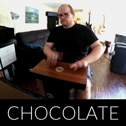 Chocolate Cajon Groove Jam - Slaptop Pickup