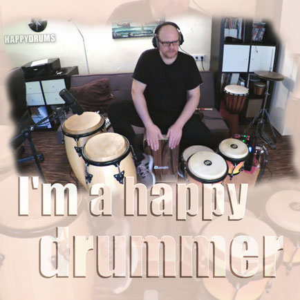 "Percussion Looper Session ""I'm a happy drummer"""
