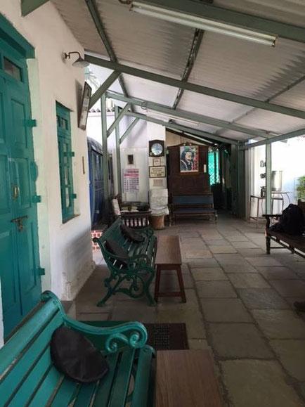 Meherazad veranda, courtesy of Sara Pearson