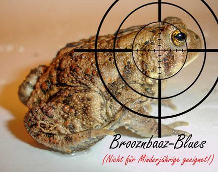 Video: Brooznbaaz-Blues: Das ergreifende Schicksal zweier liebestrunkener Erdkröten.  Letztendlich ein vom ADAC vertuschter Doppelmord! Naturgartentage Grünberg Naturgartenverein
