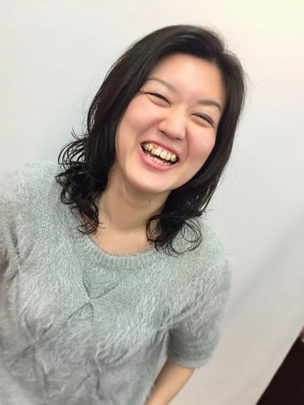 横浜・日吉・菊名・美容室☆女性の笑顔を作る専門家☆美容家 奥条勇紀 デジパーで愛されモテ髪ヘアーに・・・セットのコツは床に平行にモミモミ
