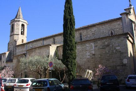 Bild: Kirche in Monteux
