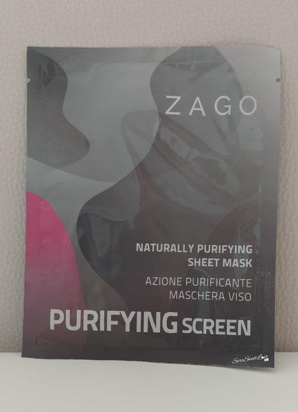 Maschera viso con azione purificante Zago