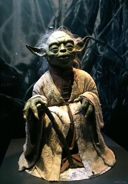 image: nina luca, star wars, star wars identities, star wars münchen, star wars exhibition, jedi, lightsaber, yoda, jedi master