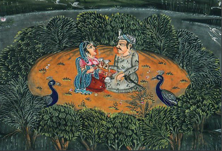 """""""Indische Miniatur"""", Quelle: unbekannt"""