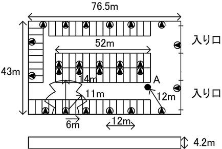 スピーカーからの最大距離点における音圧レベルの計算 非常放送設備
