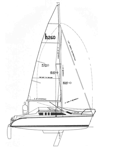 Hunter 260: Click Image To Enlarge