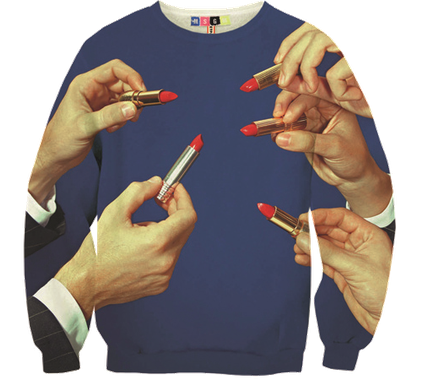 Beautiful Nightmare by MSGM and Toilet Paper Italy Sweatshirts