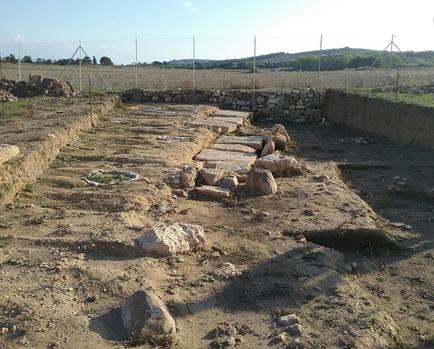 nécropole des tombes à puits