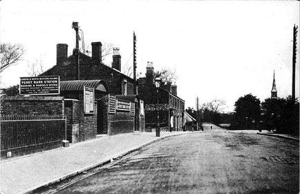 Perry Barr Station from Warwickshire Railways website
