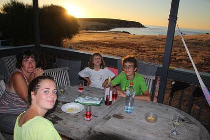 couchant de rêve à Kangaroo Island