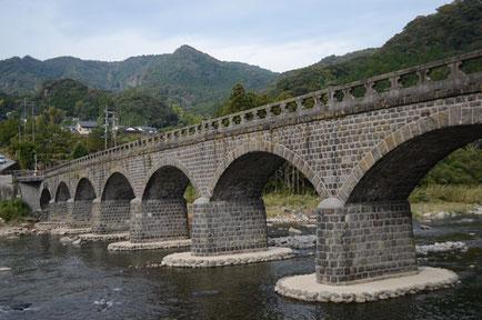 中津市の耶馬渓橋は「オランダ橋」と呼ばれている