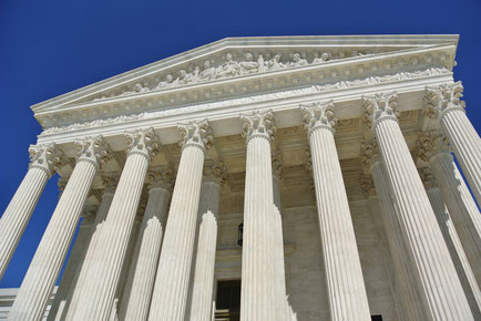 Portal des U.S. Supreme Court