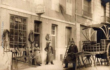 Vieil atelier de Sellier Bourrelier (www.actuacity.com)