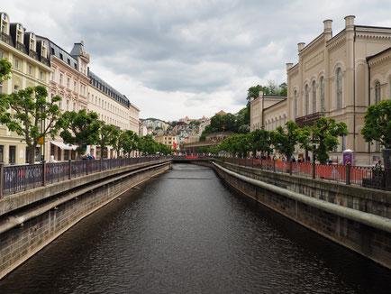 Promenade in Karlsbad