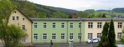 Die ehemalige Strumpffabrik heute