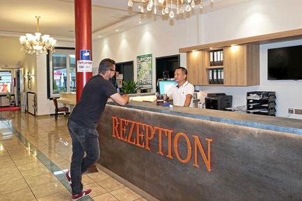 24 h Stunden Rezeption Hotel Danner Rheinfelden