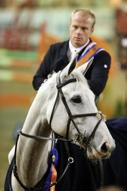 Willem Greve en Ficardi B (Zirocco Blue). Foto FotoTrailer