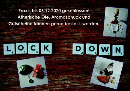 Lockdown 2.0 Praxis bis 06.12.2020 geschlossen