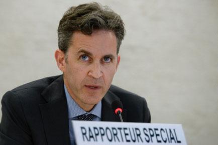 David Kaye, Relator Especial de la ONU sobre la Promoción y la Protección del Derecho a la Libertad de Opinión y Expresión