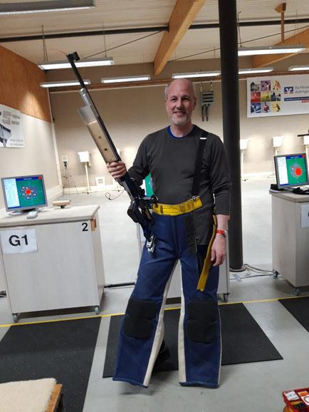 Volker Bailer erzielte als erster Schütze über 1060 Ringe