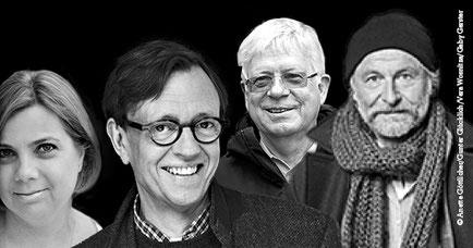 Anette Hinrichs | Hannes Nygaard | Klaus-Peter Wolf | Krischan Koch Hamburger Krimifestival 2019