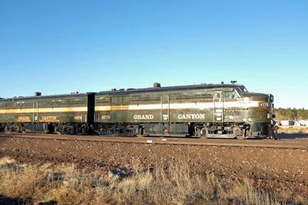 Grand Canyon Railway Zug